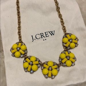 J.Crew Yellow Flower Necklace 🌼